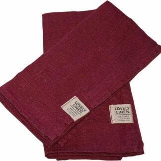Fra Viken Ide Hafjell Lin servietter Stilige og utrolig vakre servietter i 100% europeisk lin.